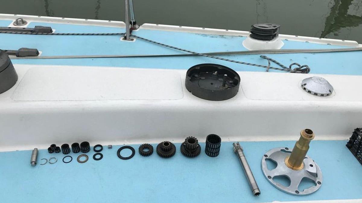 Maintenance an Bord